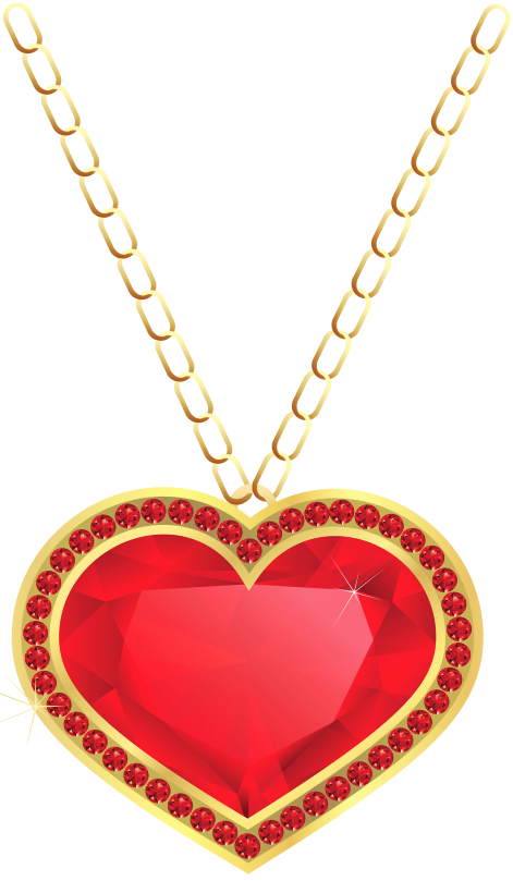 Gem clipart ruby necklace. Pendent pencil and in