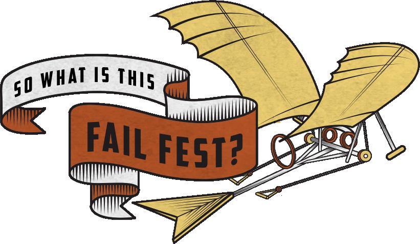 Festival clipart people. Fail fest innovation event
