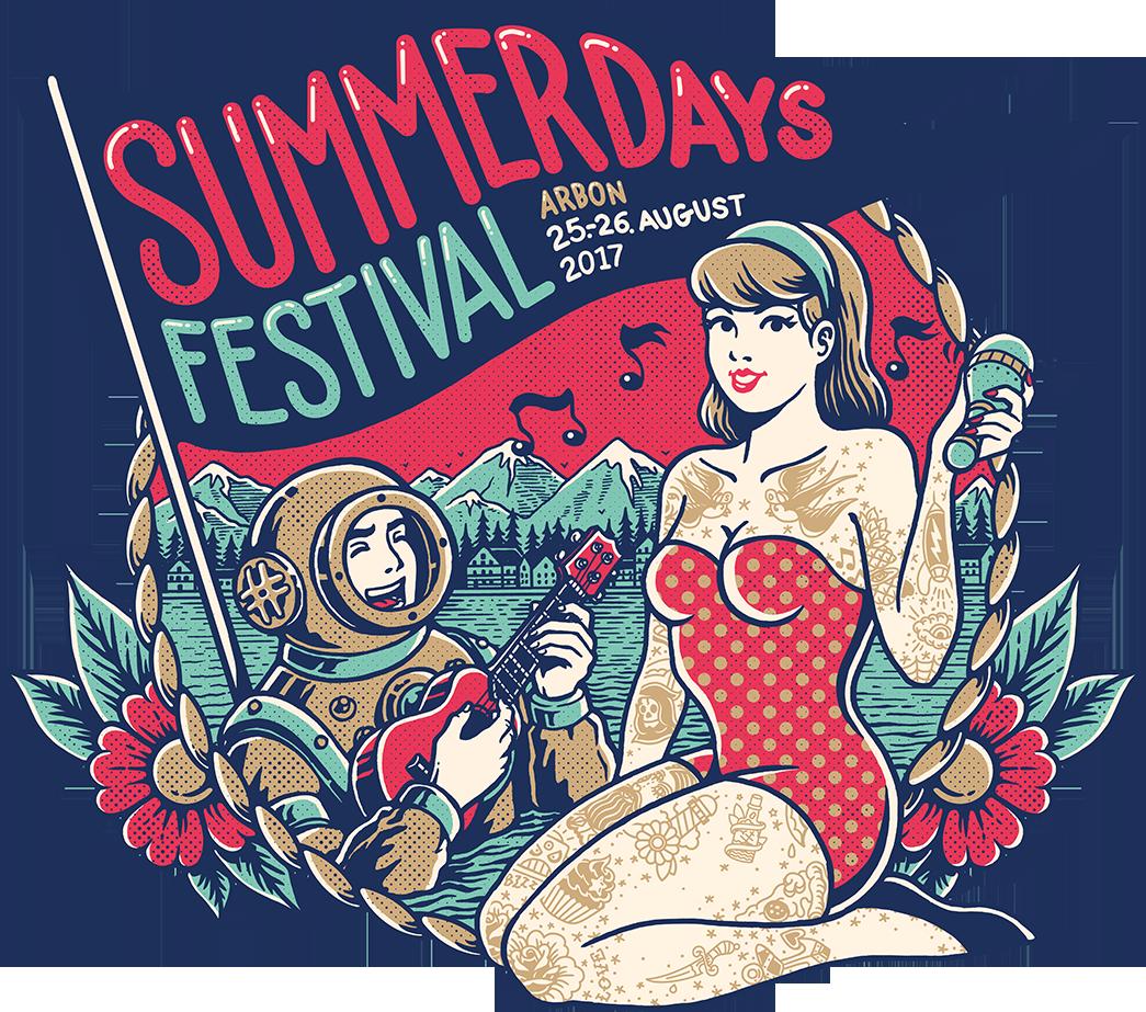 Festival clipart pop concert. Artwork des heurigen summerdays