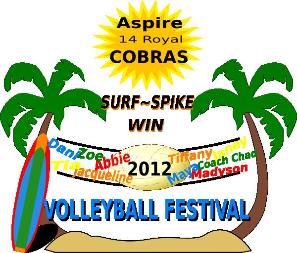 Festival clipart religious festival. Cobras volleyball clip art