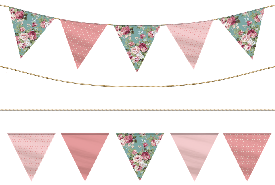 Garland clipart library. Free pennant png hd
