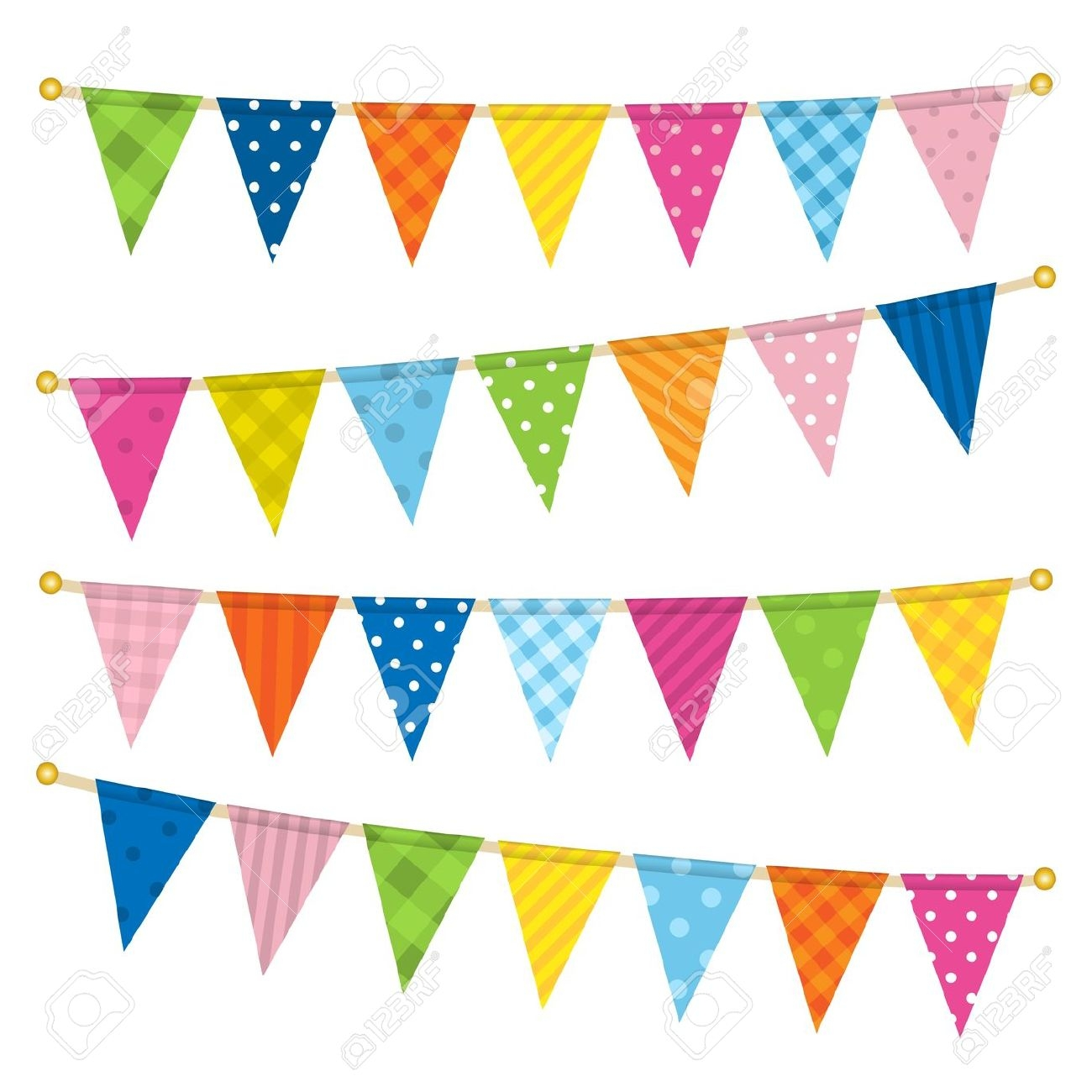 Free flags cliparts download. Triangular clipart festival banner