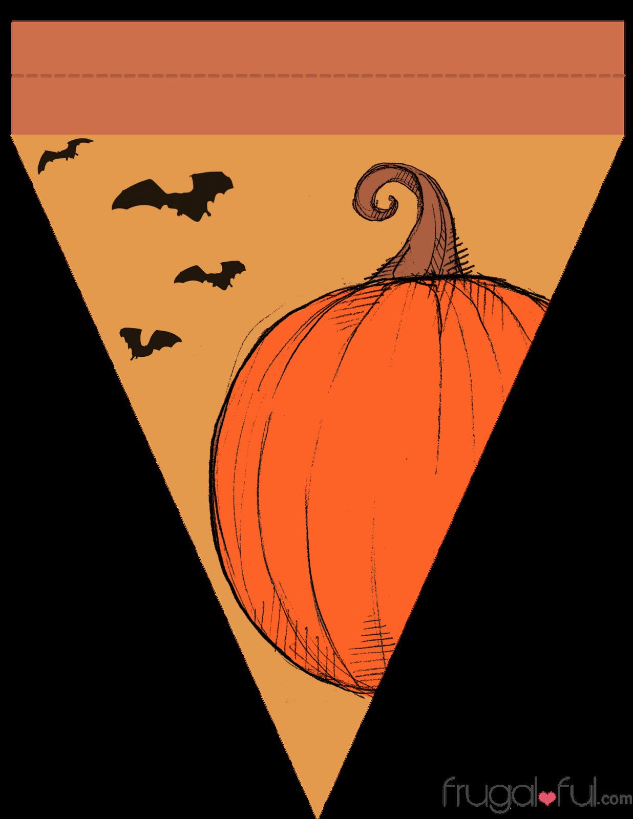 Triangular festival banner