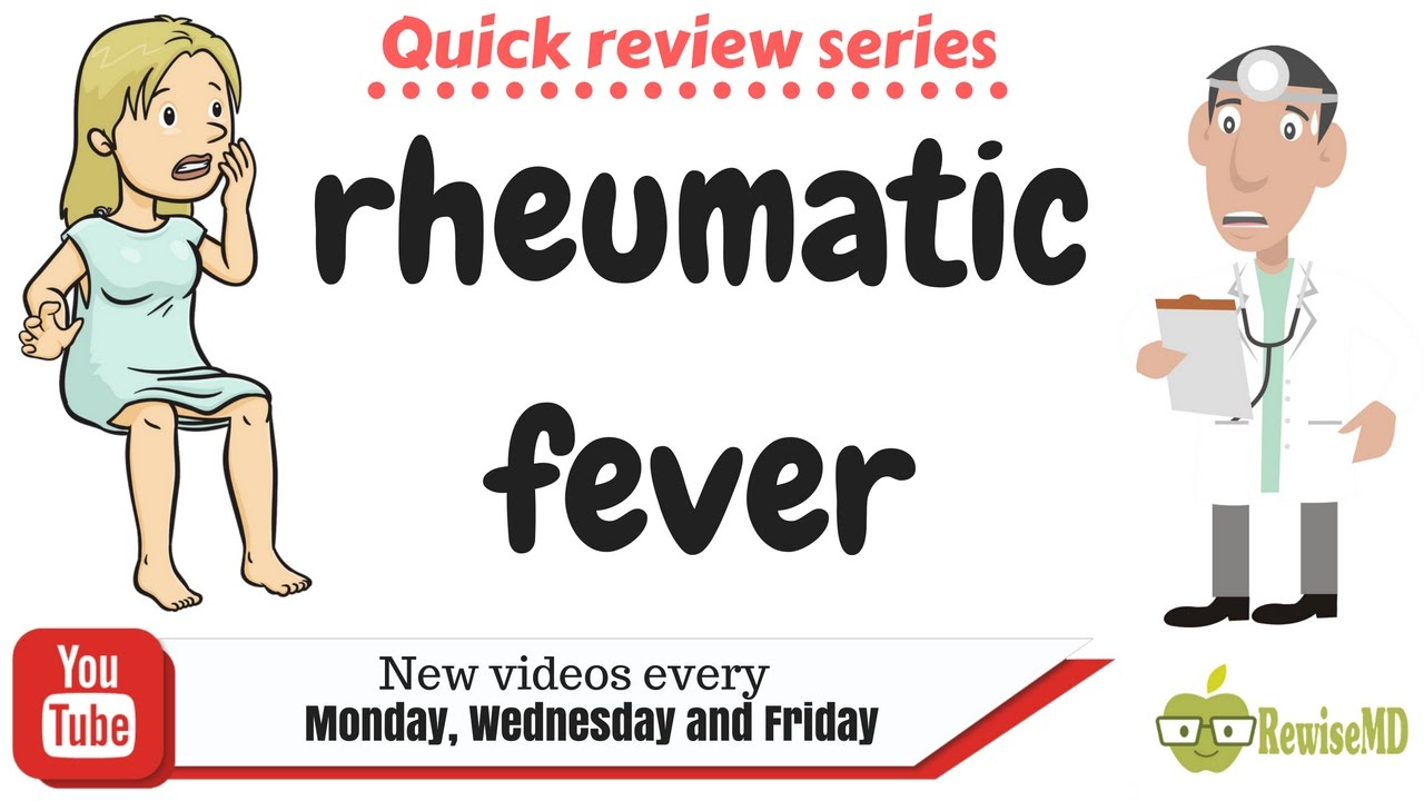 Fever clipart acute disease. Rheumatic animated quick review
