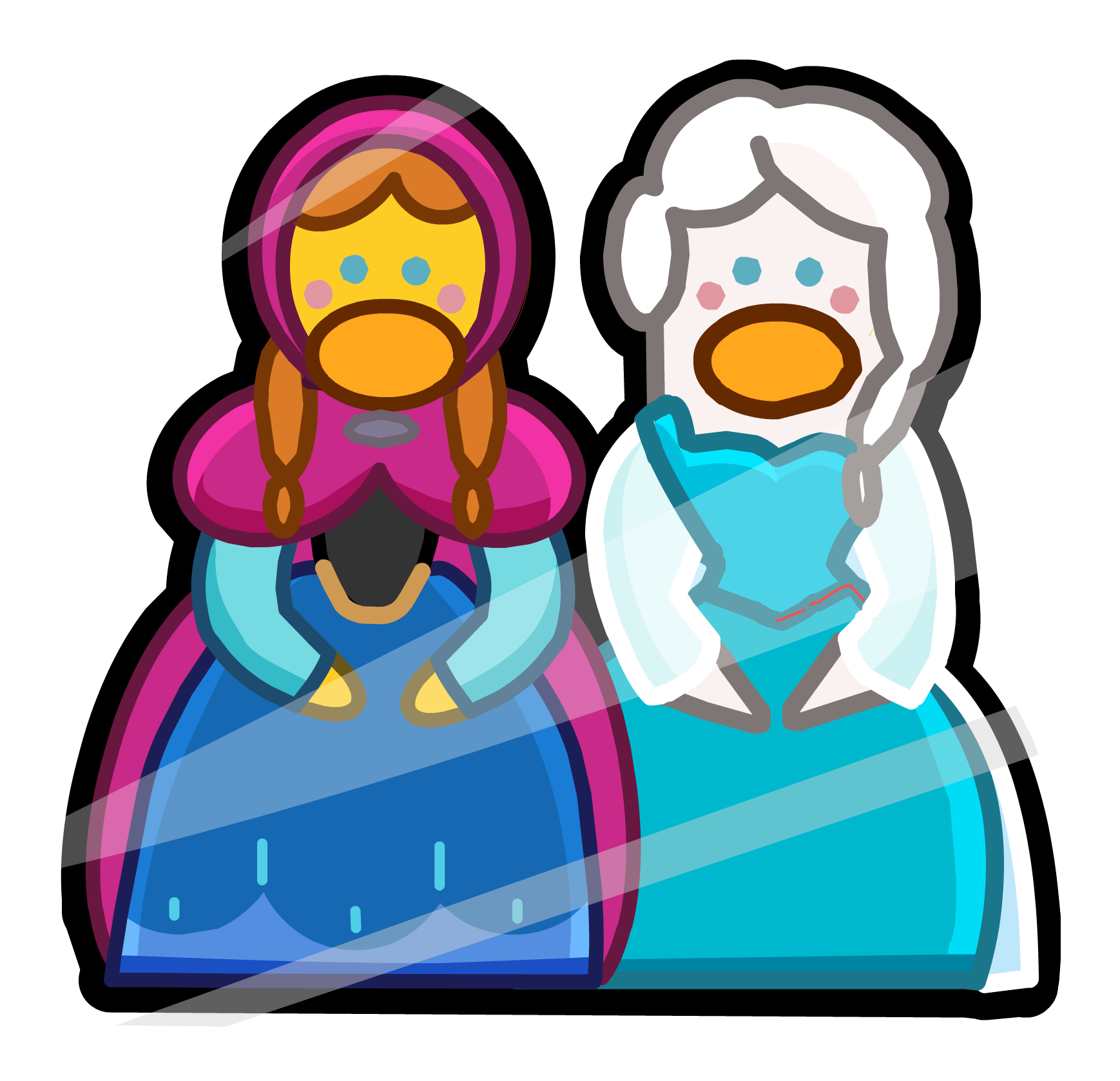 Frozen clipart penguin. Fever party club wiki