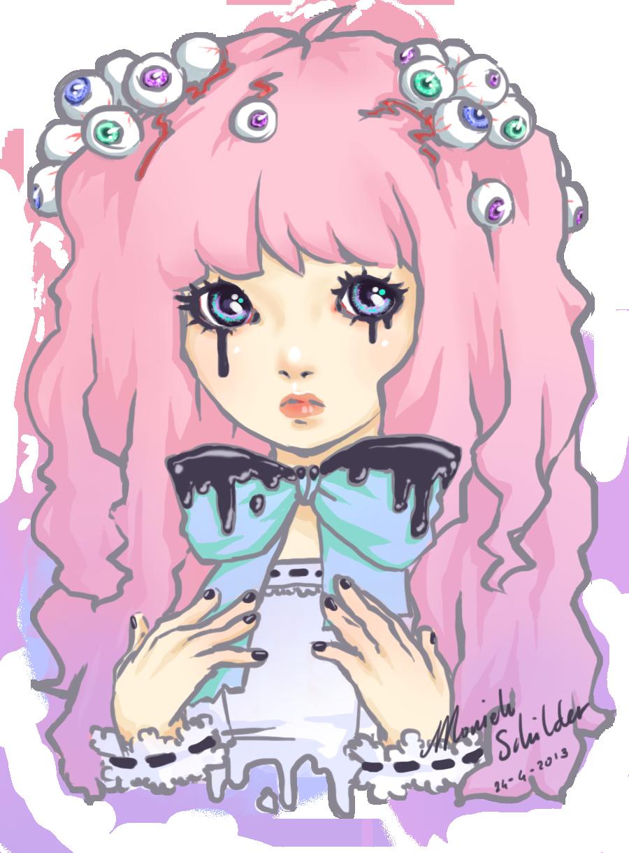 Girly clipart pastel. Goth google art pinterest