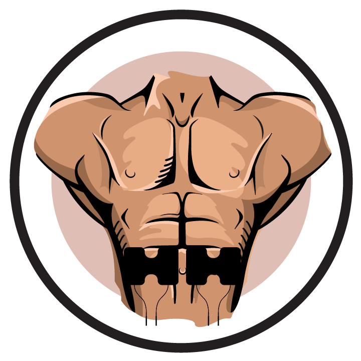 Pain clipart muscle spasm. Electrode pad placement by