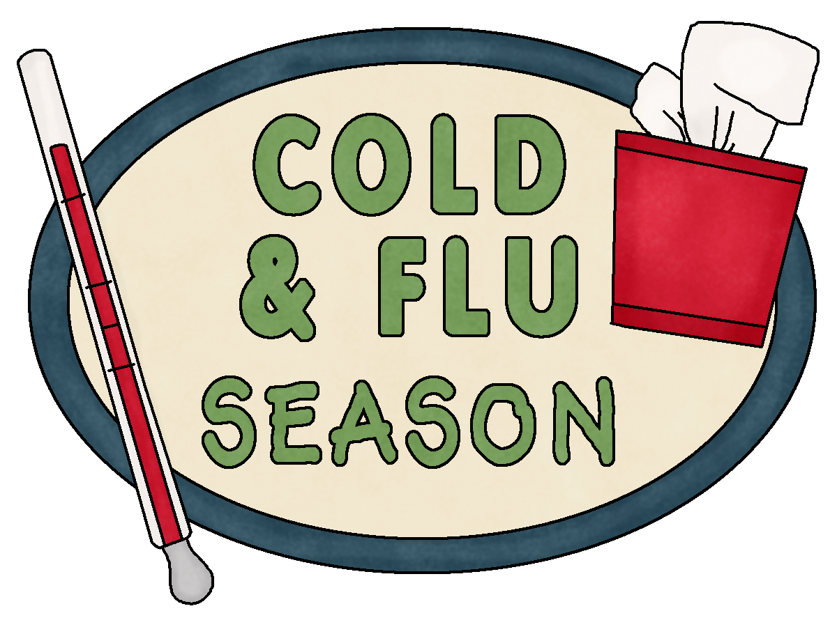 Carle presence implement visitor. Flu clipart influenza symptom