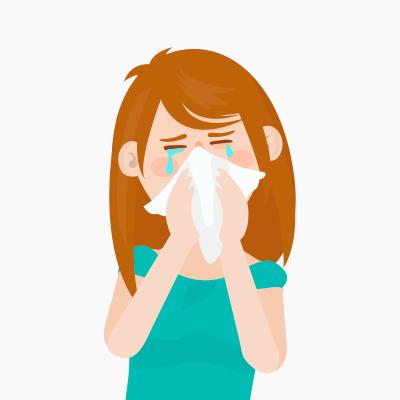 Paleo and allergies leap. Flu clipart seasonal allergy
