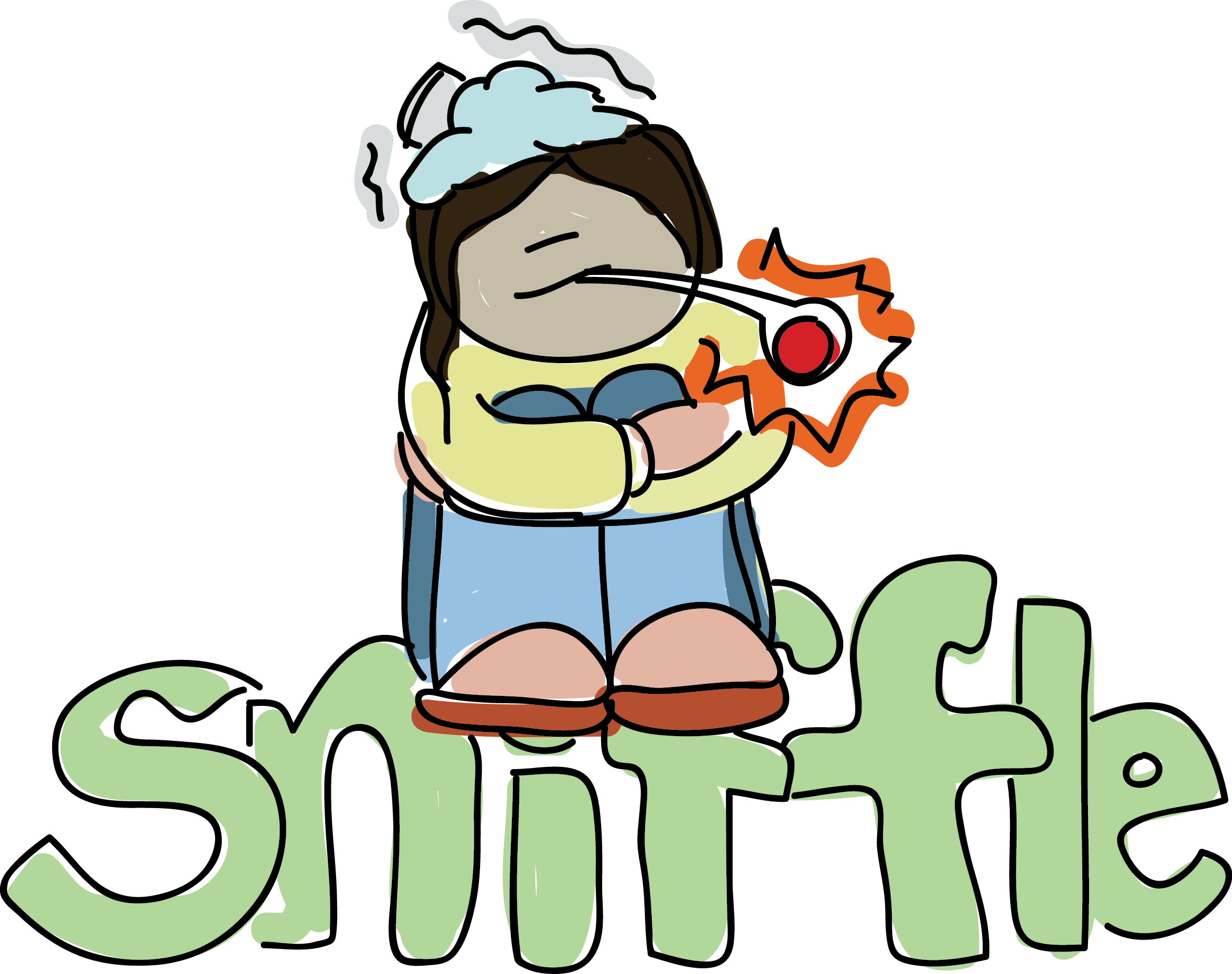 Starring my sinus infection. Flu clipart bed cartoon
