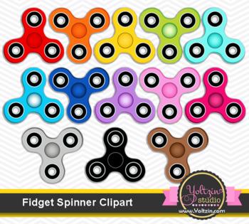 Fidget spinner clipart. Hand spinners