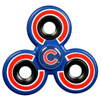 Chicago cubs spinners toy. Fidget spinner clipart