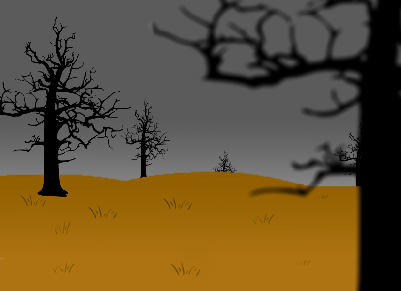 Scary dead free images. Field clipart
