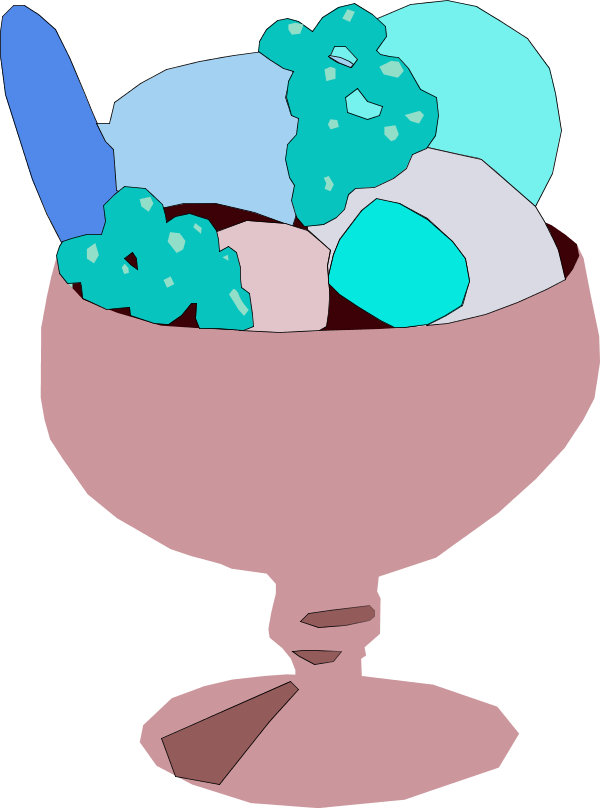 Icecream clipart small. Image of ice cream