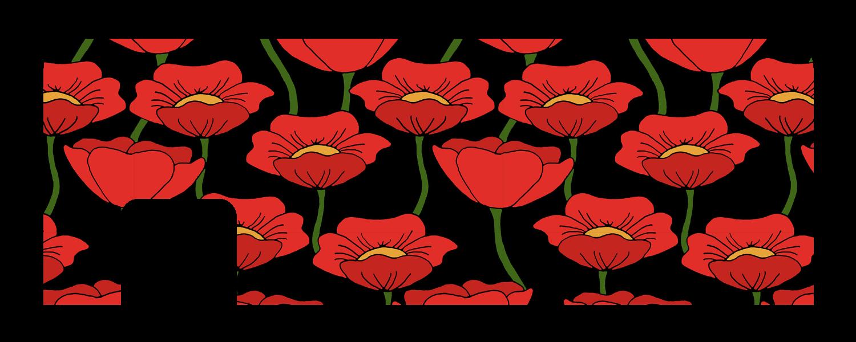 Field clipart field wildflower. Flanders cucu covers