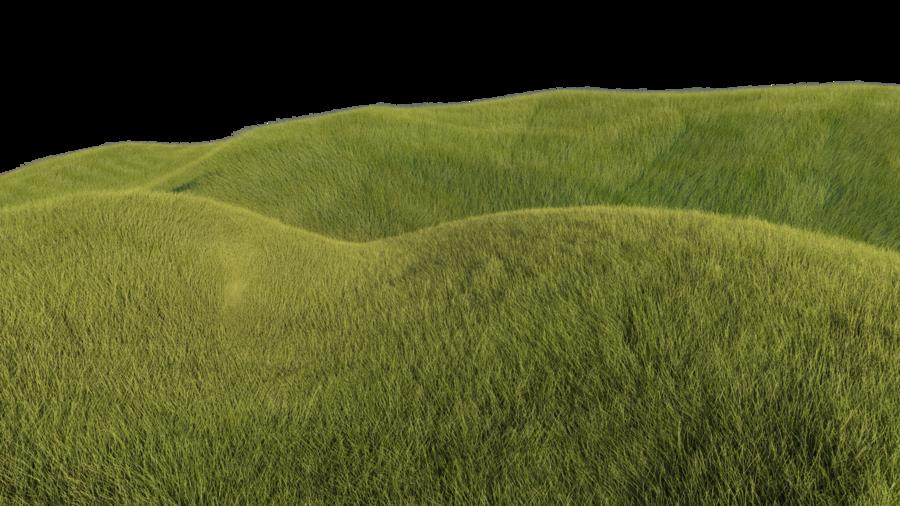 Grassy hills by kakarottt. Lake clipart hill