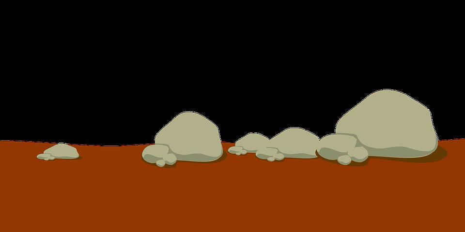 Ground dug