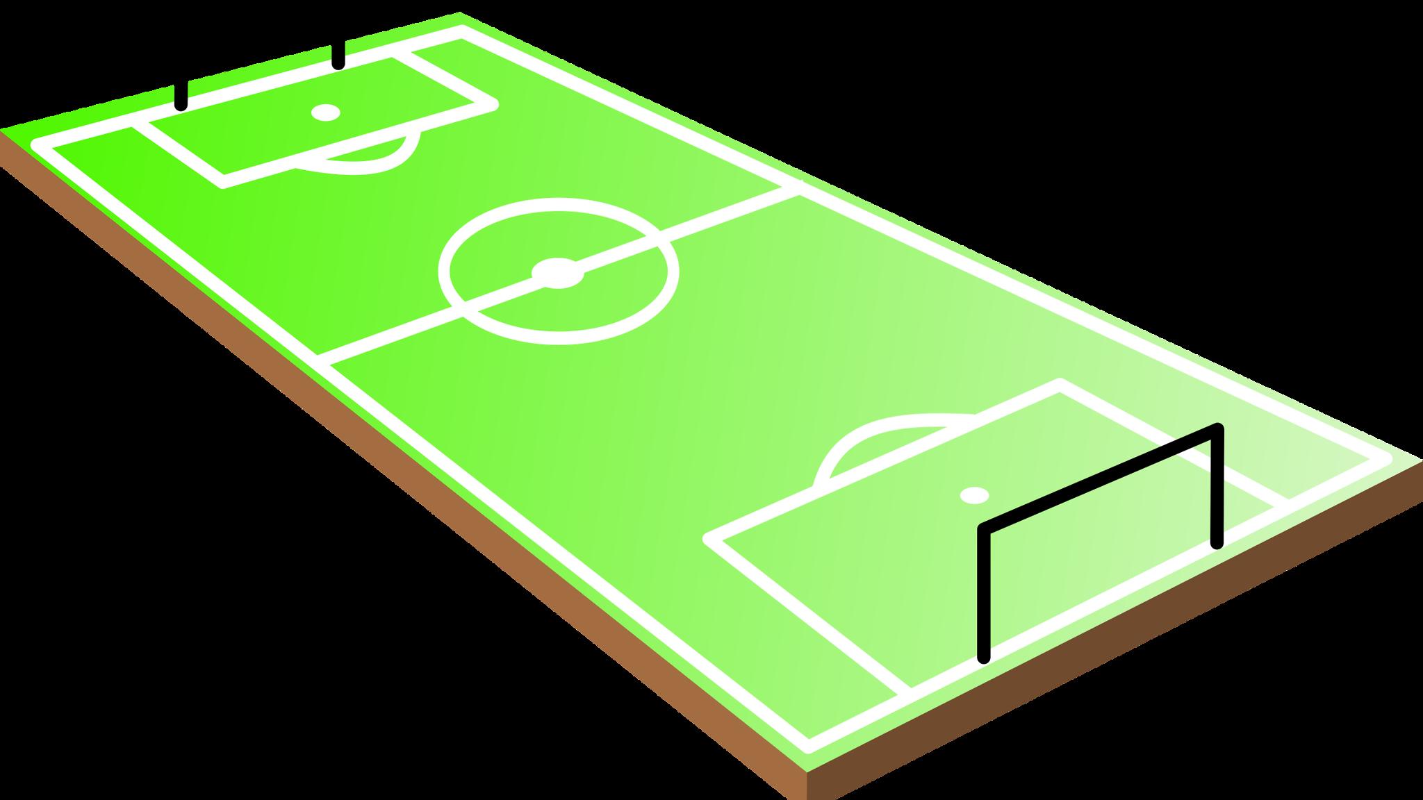 Games clipart athletics games. Football pitch field stadium