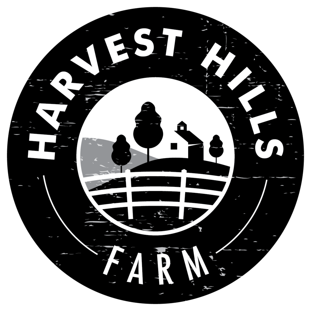 The farm at harvest. Outside clipart rolling hills