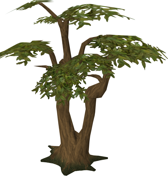 Woodcutting runescape wiki fandom. Tree clipart transparent background