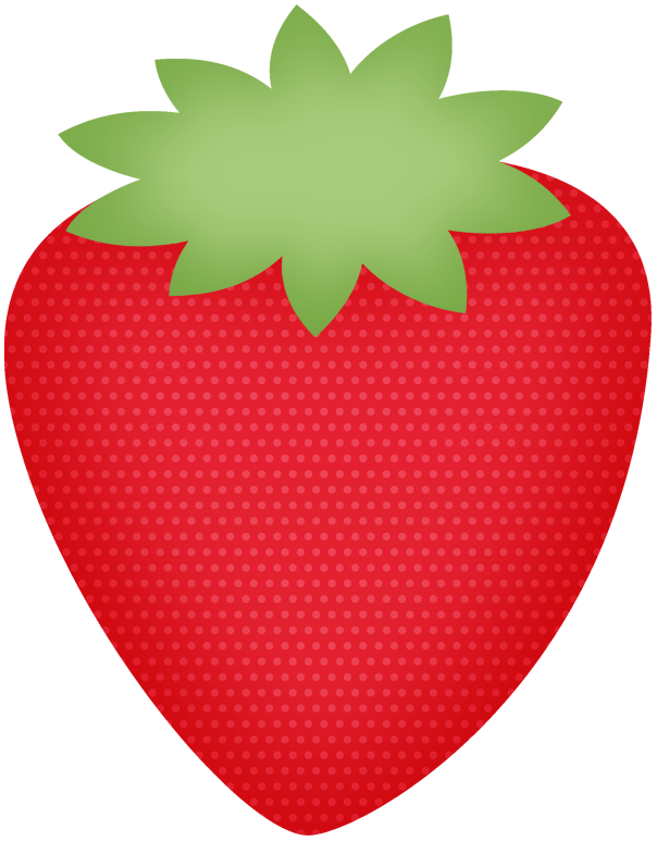 Fruits clipart printable.  berrie f strawberry