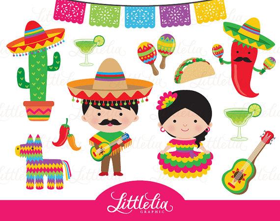 Fiesta clipart. Mexican cinco de mayo