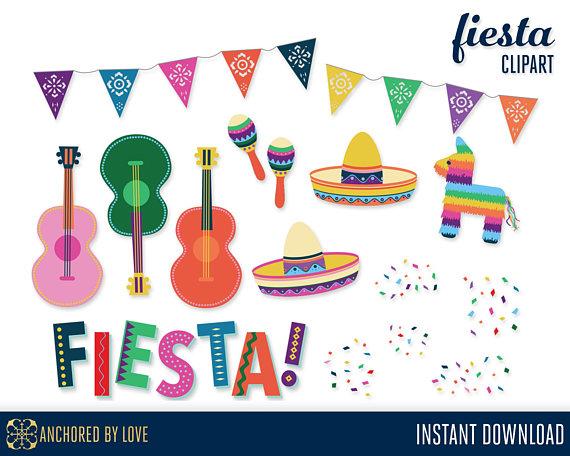 Fiesta clipart. Cinco de mayo mexican