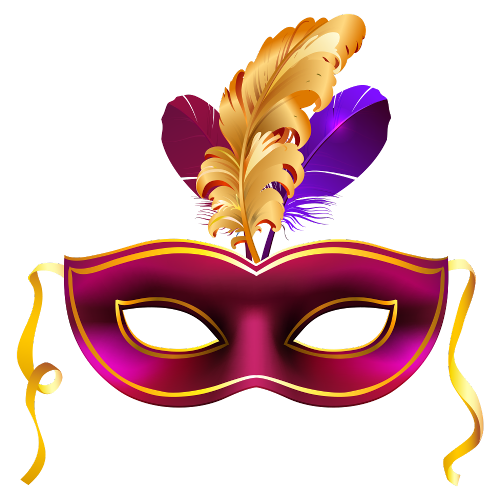 Fiesta clipart carnival. Antifaz mask carnaval party