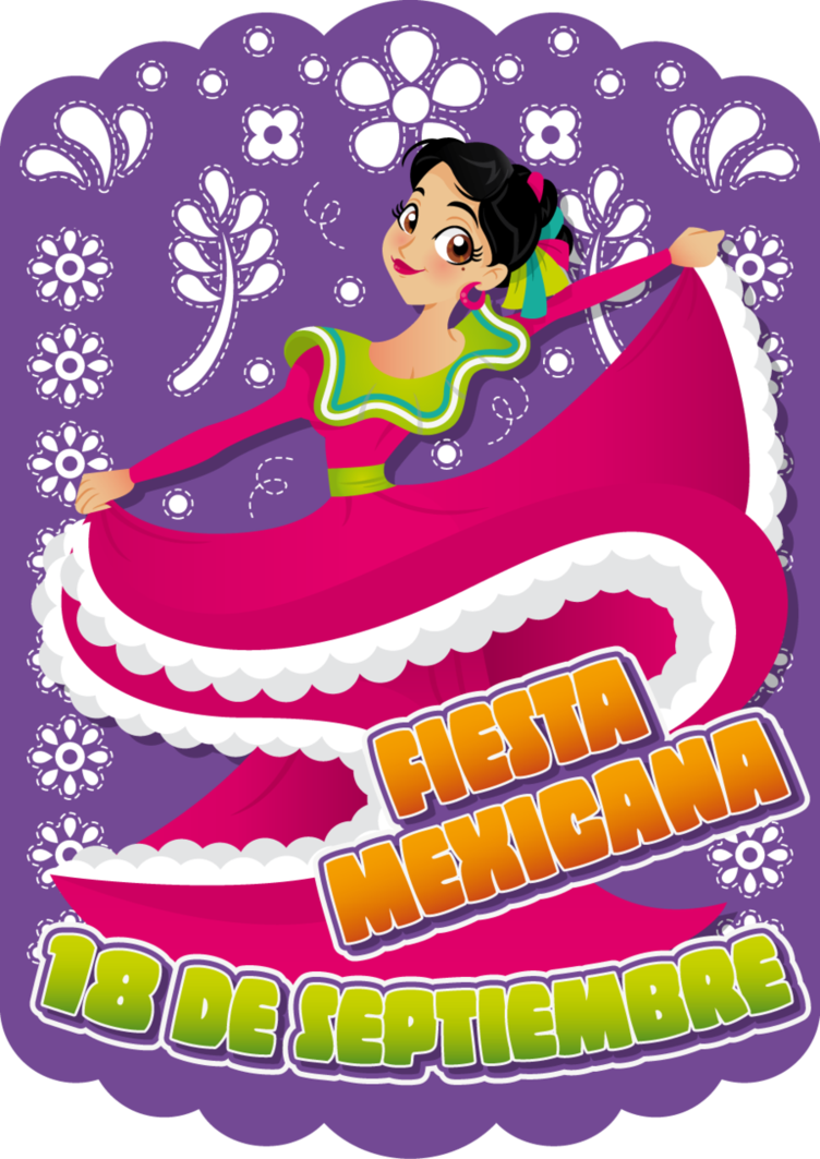 Party cinco de mayo. Mexican clipart invitation