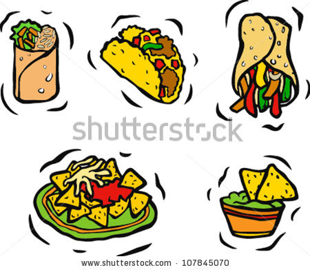 Tacos clipart food spain. Mexican fiesta free download