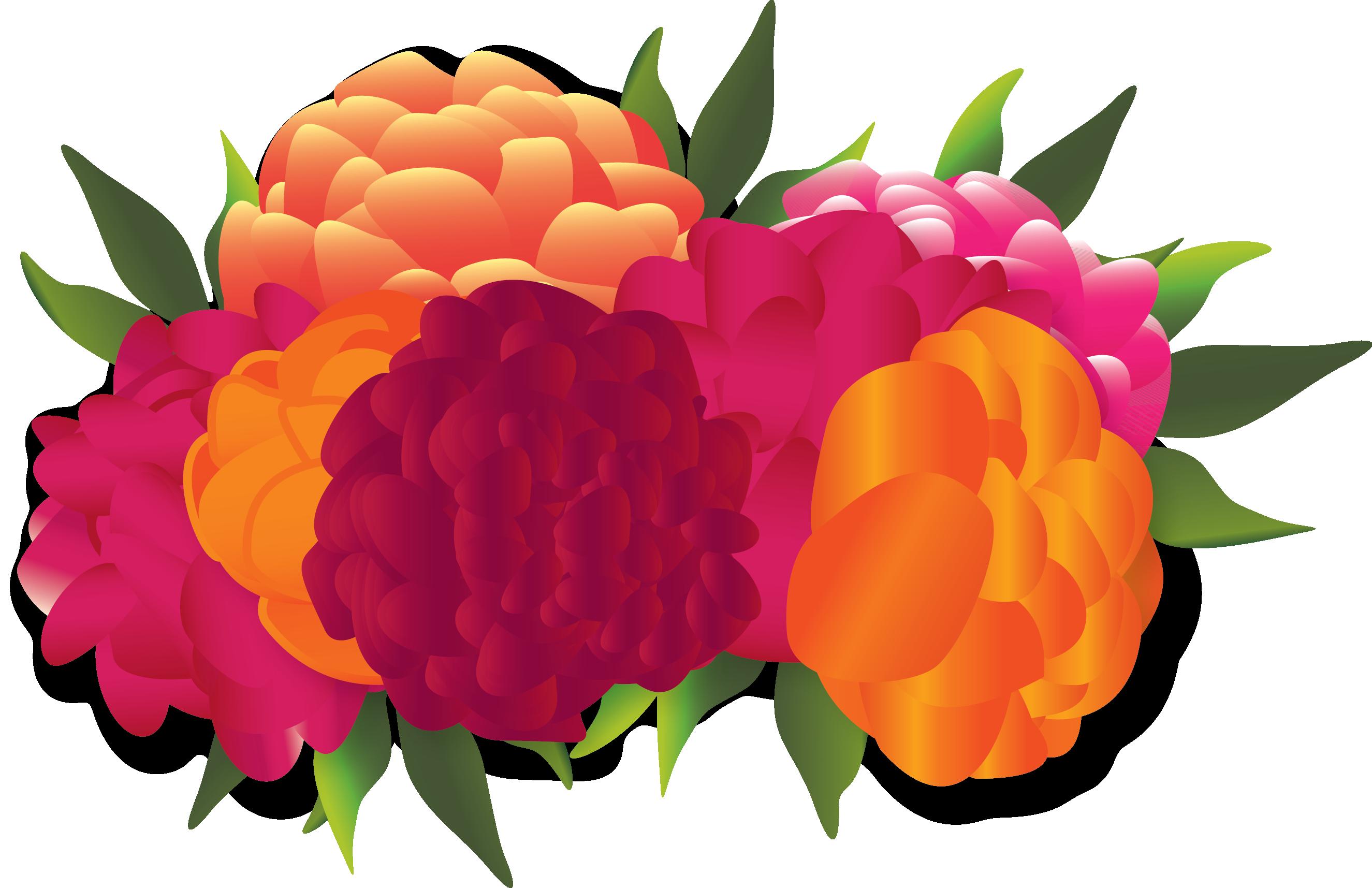 maracas clipart flower mexico