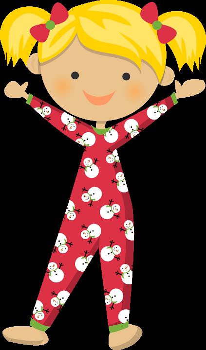 Pajama fiesta del pijama. Pajamas clipart clip art