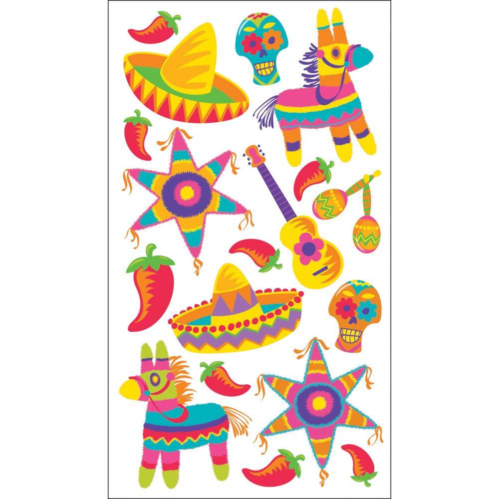 Fiesta clip art library. Mexican clipart pinata