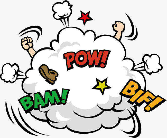 Fight clipart. Yellow clouds flaky png