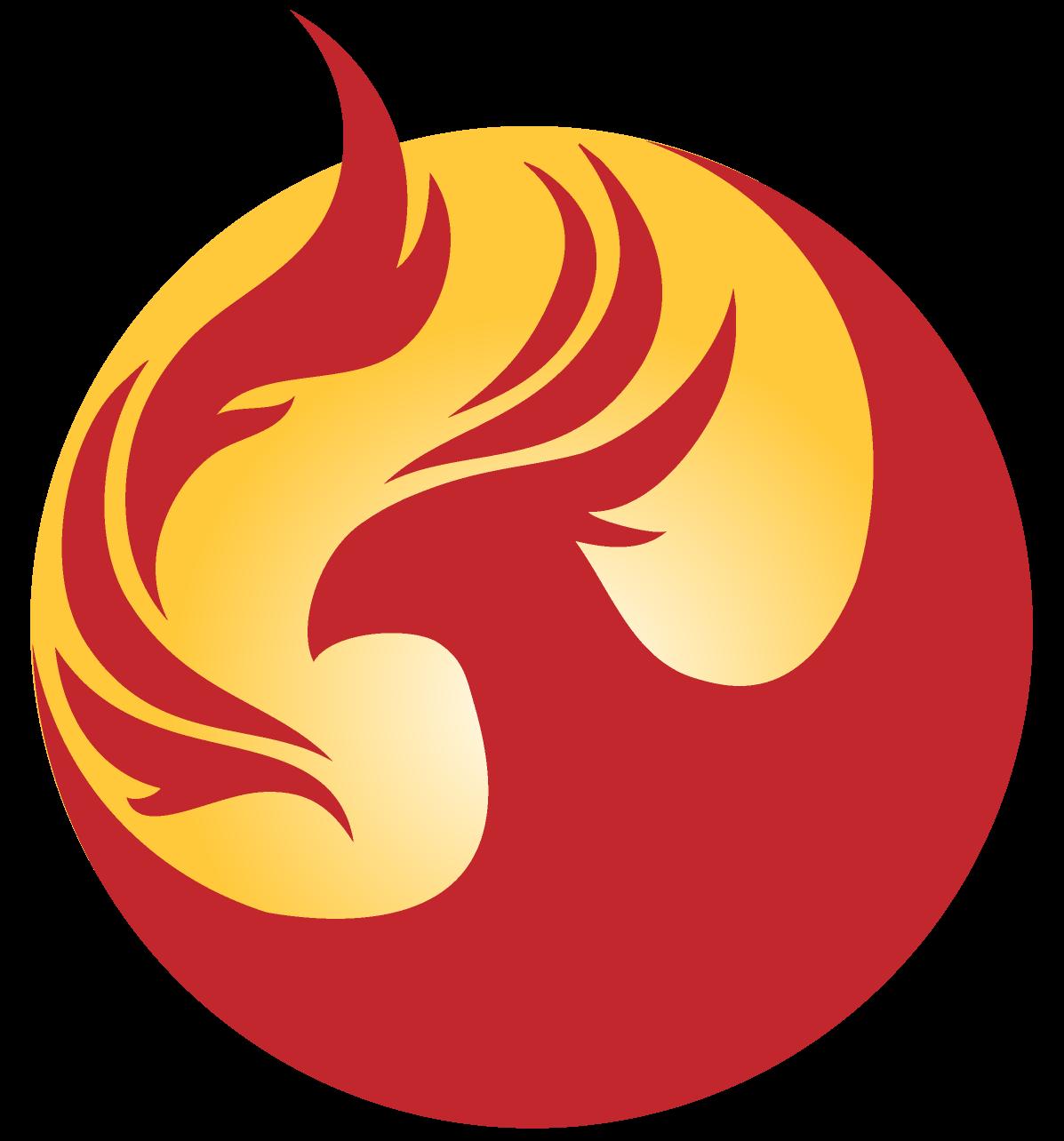 Fighting clipart abhor. Phoenix logo arizona pinterest