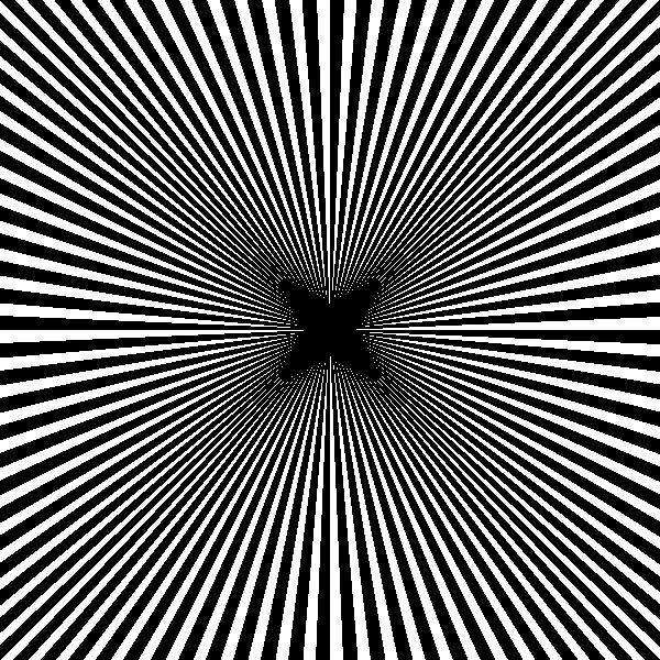 Black illusion clip art. Square clipart curvy