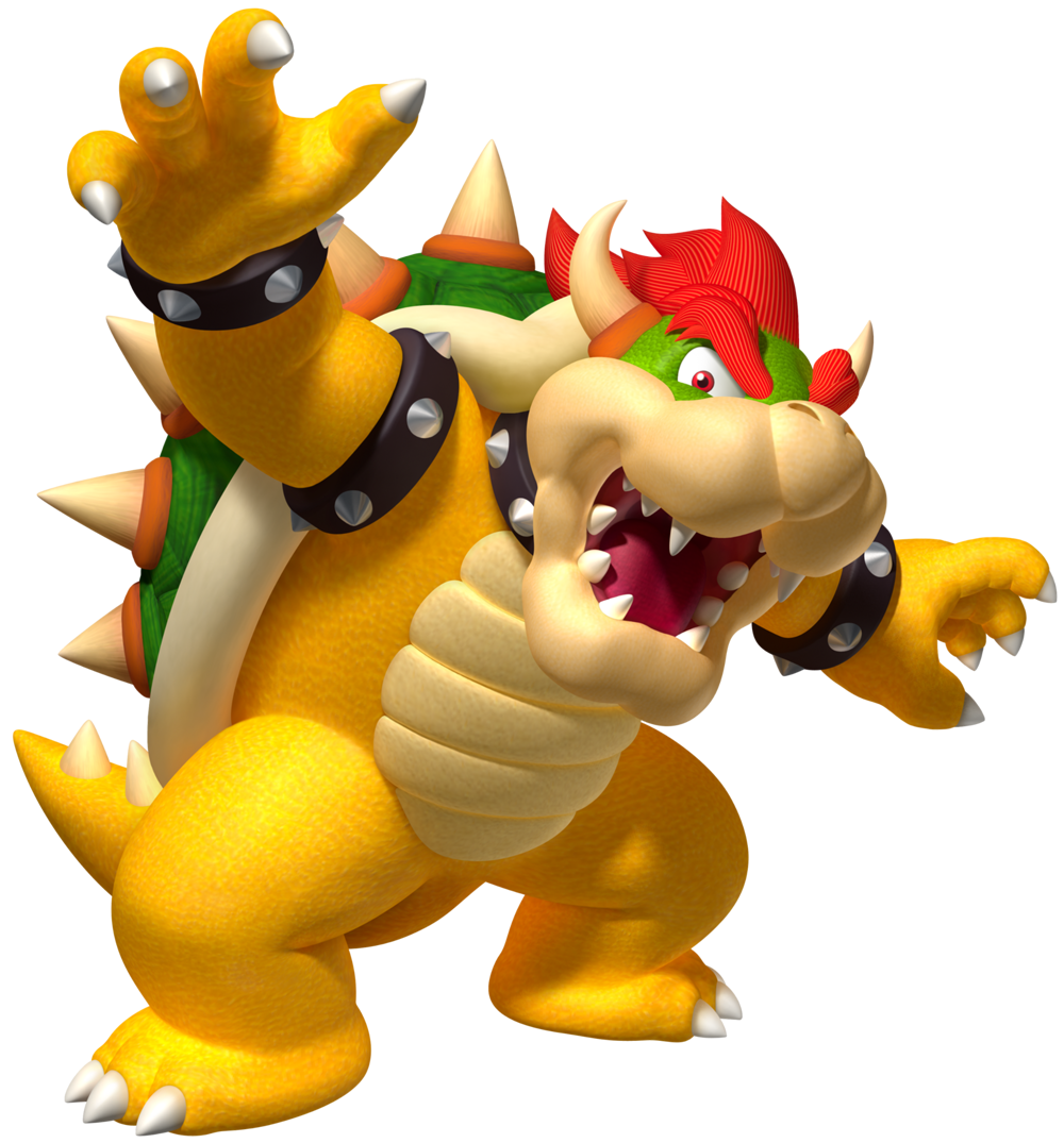 Bowser mario bros and. Fight clipart brawl