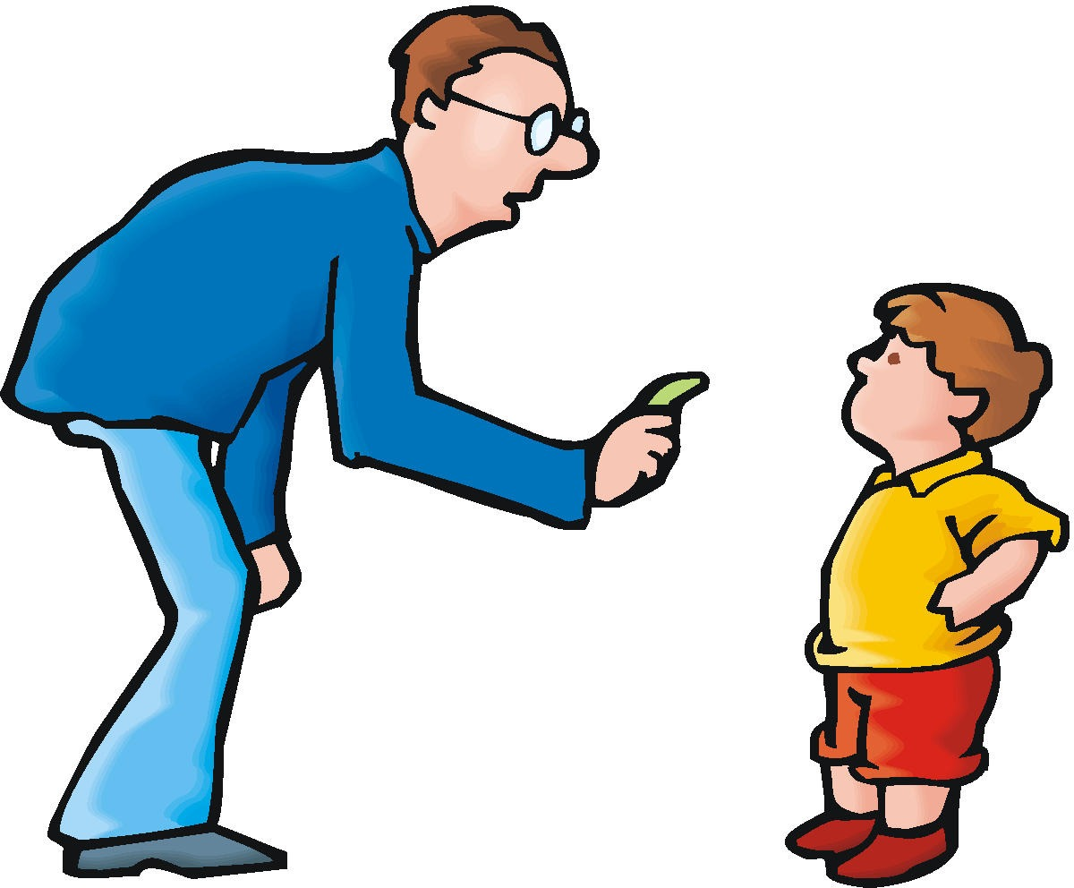 Yelling clipart strict father. Collection of discipline free