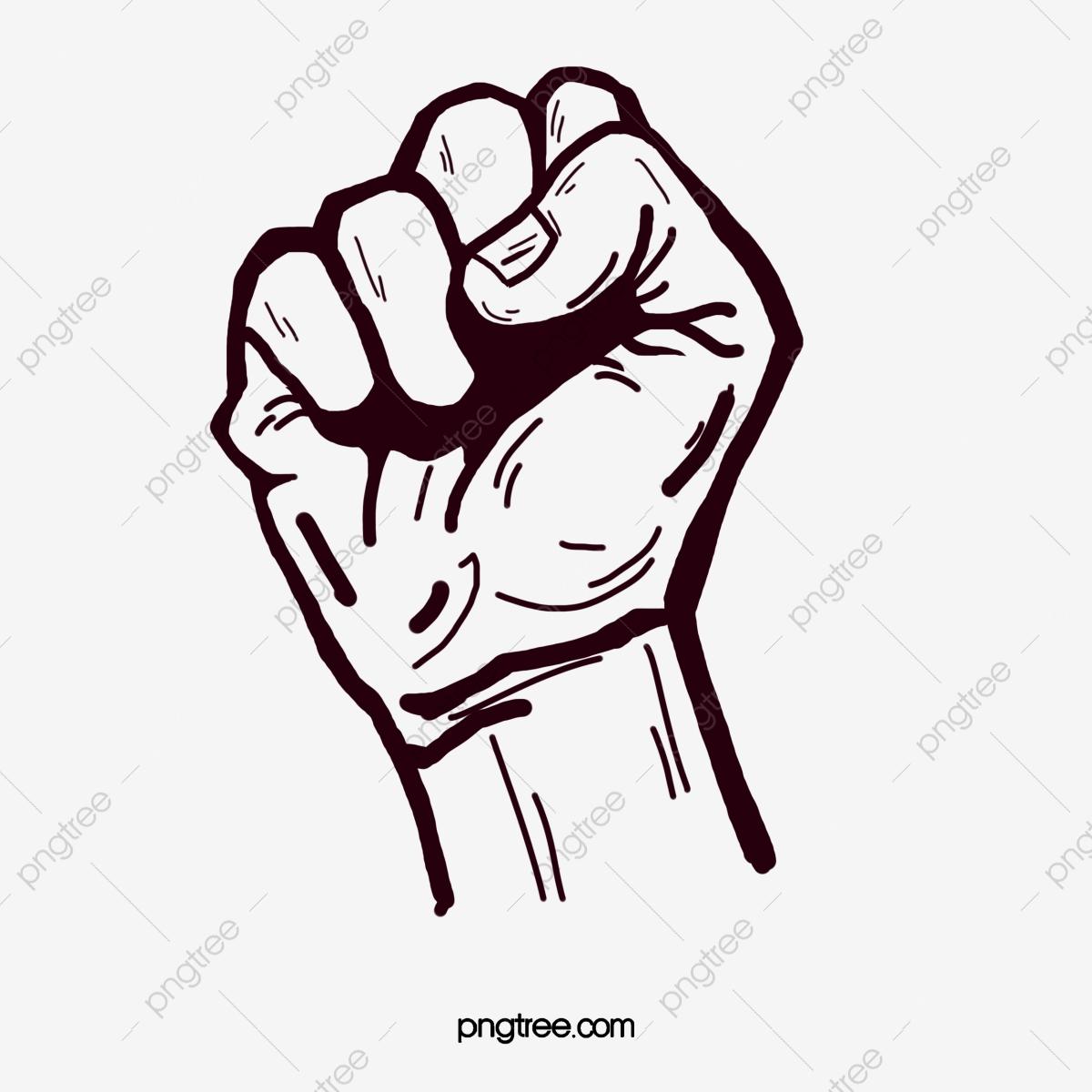 Gesture png transparent . Fist clipart hand fist