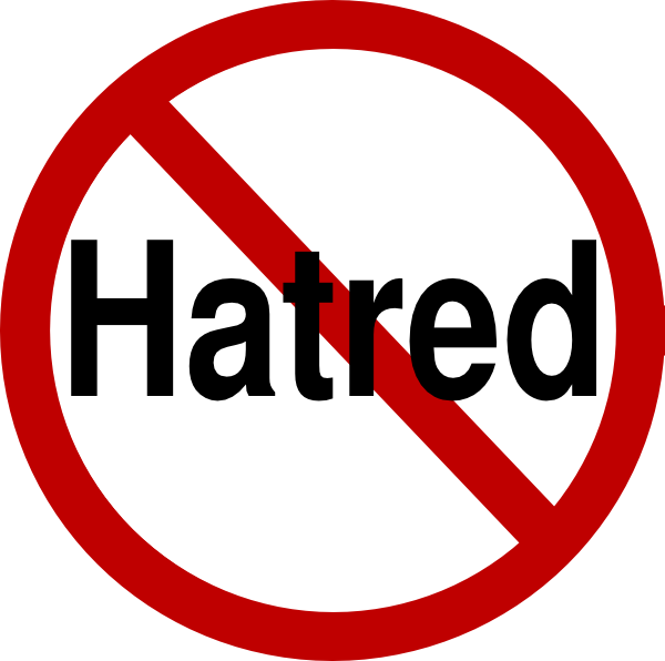 No clip art at. Fighting clipart hatred