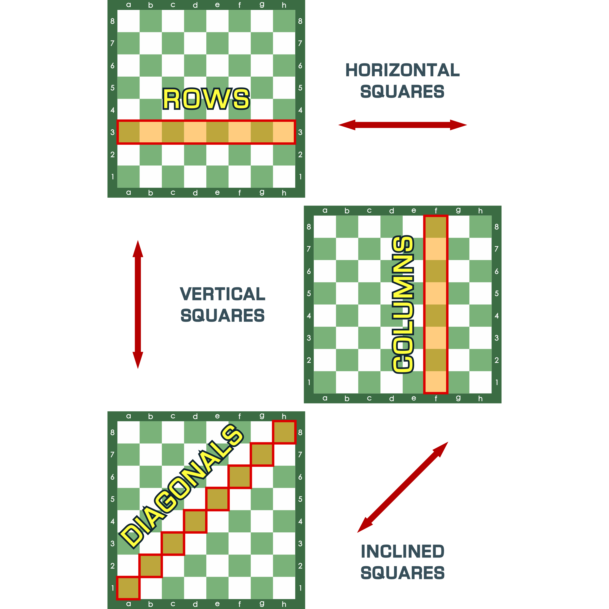 Game clipart educational game. Rows columns and diagonals