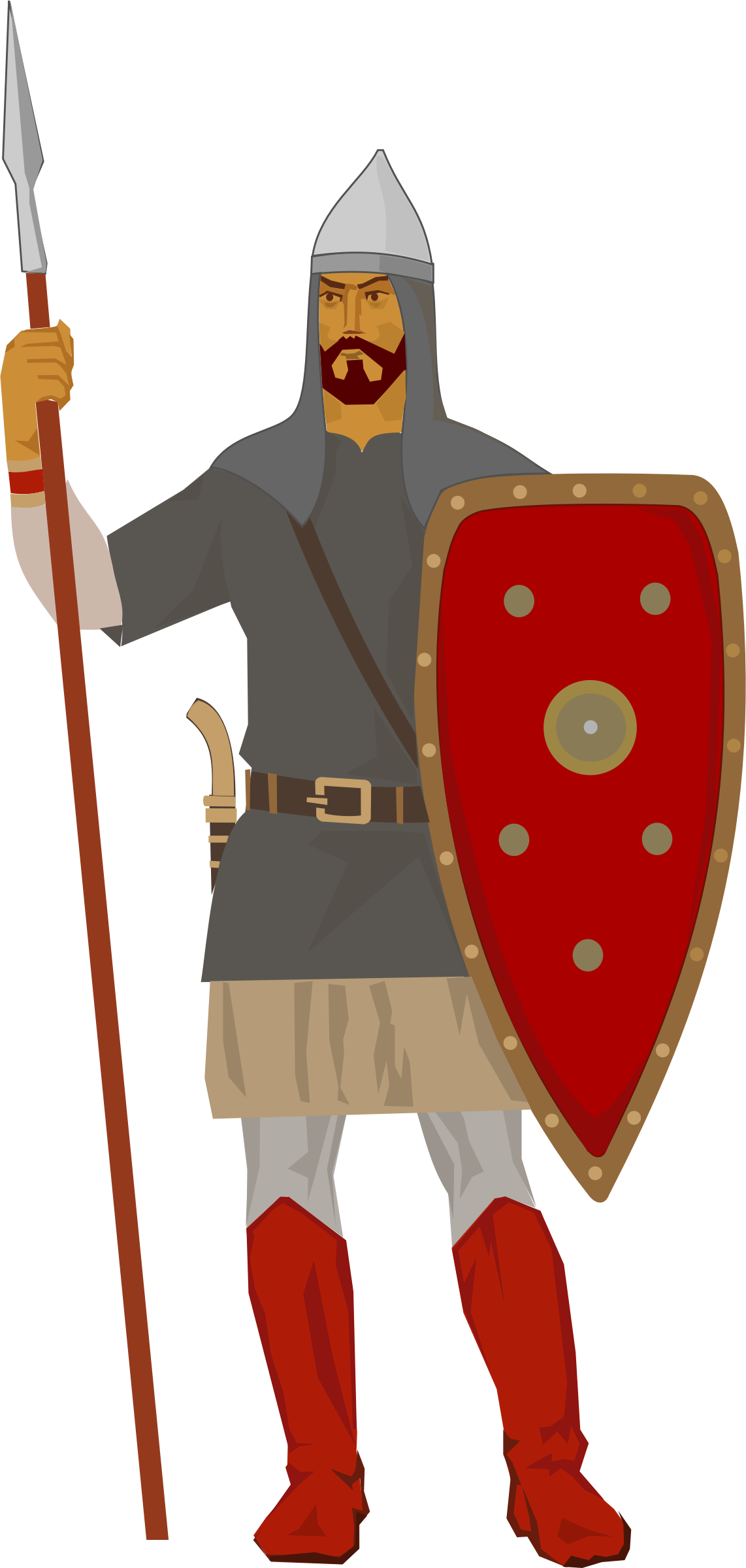 Warrior xii century big. Knights clipart medieval lord