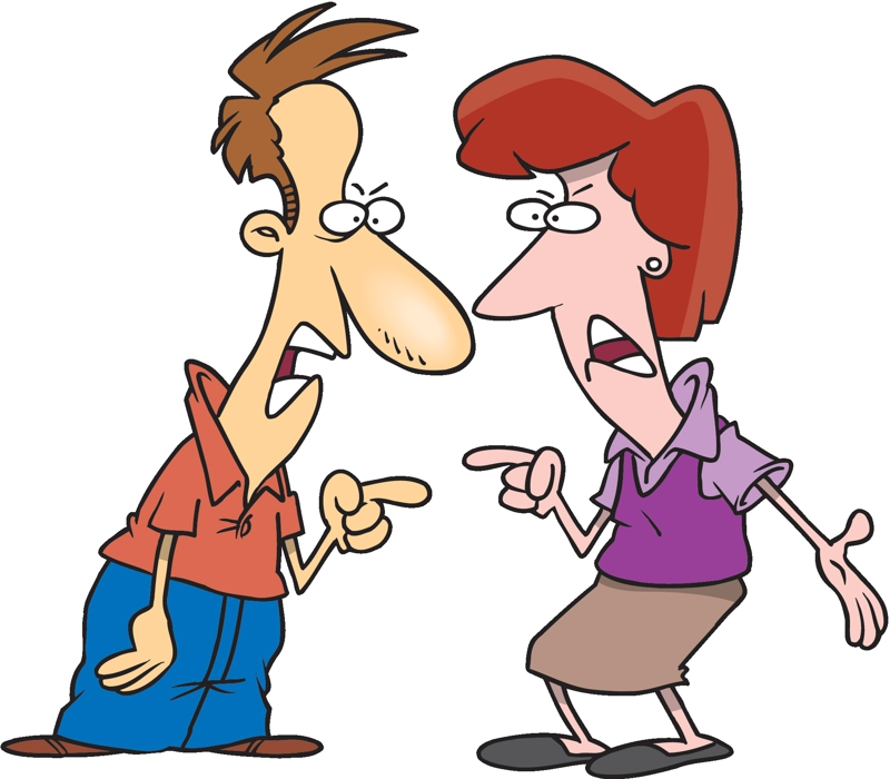 Stress clipart relationship stress. People fighting images free