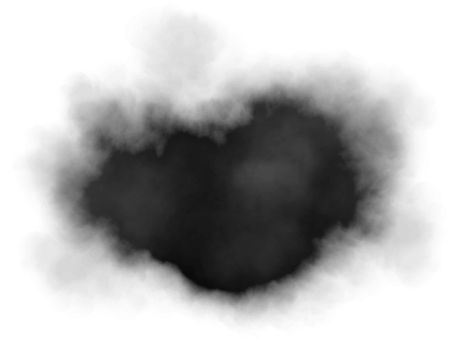 Image smokes . Black smoke png