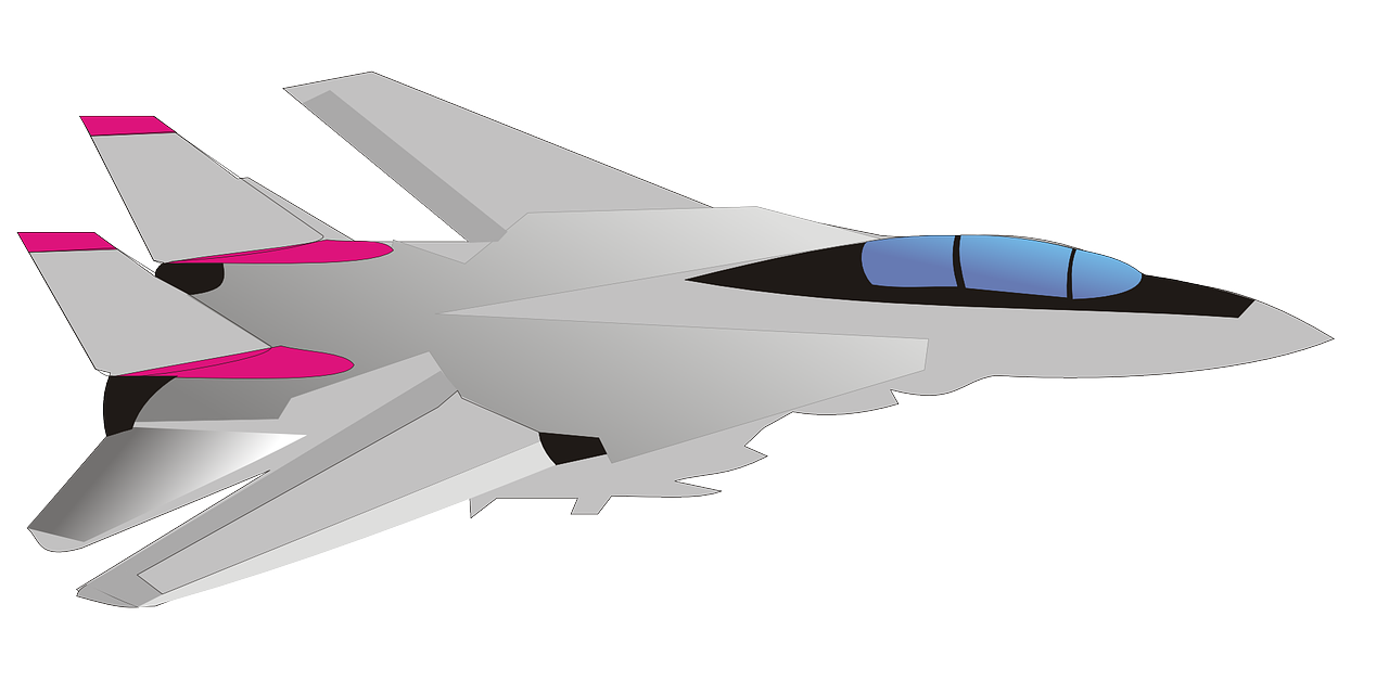 military clipart fighter plane