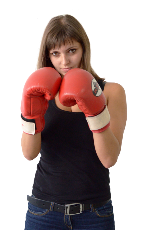 Fighting clipart woman boxing. Female boxer png transparent
