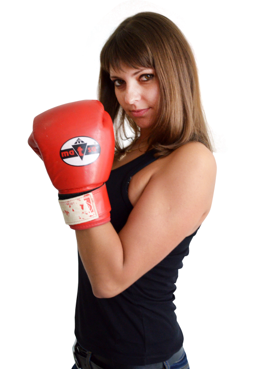 With gloves png transparent. Fight clipart woman boxing