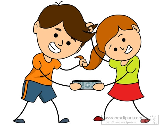 Family station . Fighting clipart