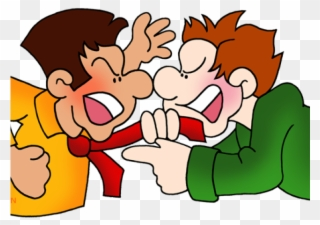 Fighting clipart animosity. Fight conflict types of