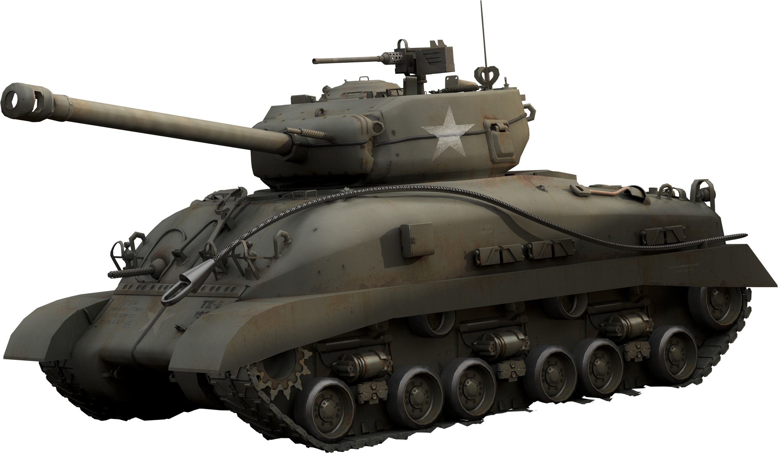 Military clipart turret. Tank one isolated stock